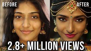 SOUTH INDIAN BRIDAL MAKEUP LOOK | MUGURTHAM MAKEUP | MAKEUP BY PREETHI