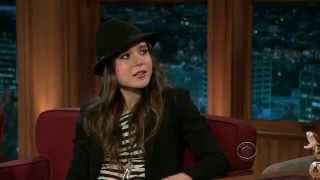 getlinkyoutube.com-Ellen Page at the Late Late Show with Craig Ferguson, 6 April 2011