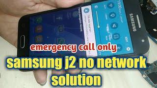 Samsung j2 gak ada sinyal(hanya panggilan darurat)