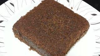 getlinkyoutube.com-Biscuit cake in cooker-eggless