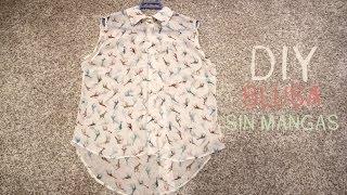 getlinkyoutube.com-DIY Cómo hacer una blusa básica (patrones de camisa gratis)