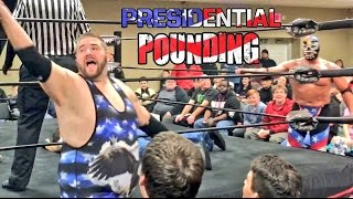 getlinkyoutube.com-BIGGEST REFEREE SCREW JOB SINCE MONTREAL! WWE LEGEND THE PATRIOT AND GRIM VS IDIOTS AT SWF!