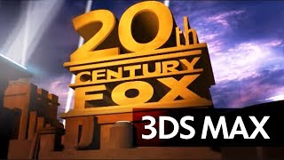 getlinkyoutube.com-3Ds Max: 20th Century FOX Intro - Full HD, Optimized