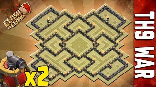 getlinkyoutube.com-WAR BASE TH9 #1 | DOUBLE AIR SWEEPER | NEW SUMMER UPDATE
