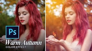 getlinkyoutube.com-Warm Autumn Effect Photoshop CC Tutorial Ver.2