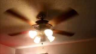 getlinkyoutube.com-Ceiling fans in my house running on all speeds (better remake)