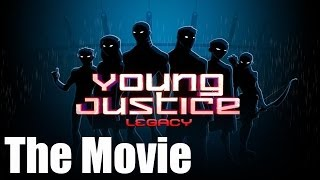 getlinkyoutube.com-Young Justice Legacy - All Cutscenes (Game Movie)