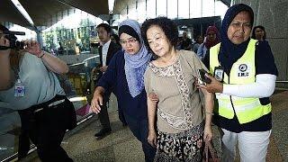 ادای احترام به قربانیان سقوط هواپیمای مالزی در هلند