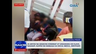 Saksi: 24 anyos na babaeng kinidnap at ginawang sex slave, nasagip
