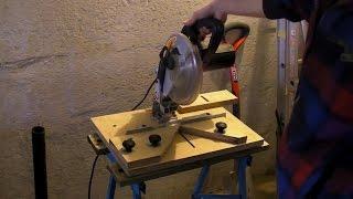 getlinkyoutube.com-Fixing Mitre Saw - 90° Chop Saw - Mitre Cutting Jig