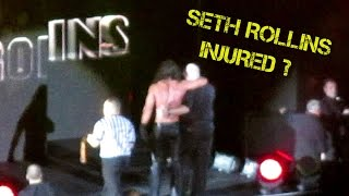 getlinkyoutube.com-WWE Seth Rollins ACL Injury FOOTAGE at WWE Live Dublin: My Analysis and Breakdown of What Happened