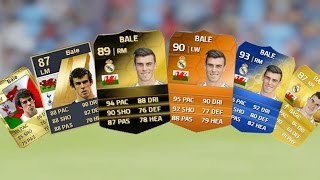 getlinkyoutube.com-Gareth Bale Ultimate Team Cards from FIFA 10 to FIFA 15