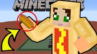 getlinkyoutube.com-Minecraft: OMG WHAT AM I?!? (HOT DOGS, NYAN CAT, & MORE!) Mod Showcase