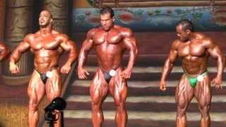 getlinkyoutube.com-Zack Khan Steve Kuclo - 2nd Group - Compulsory - Prejudging - IFBB Pro - Dallas Europa 2013