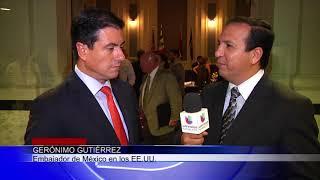 Visita del Embajador de México Gerónimo Gutierrez a nuestra ciudad