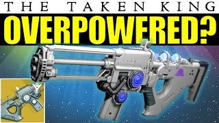 Destiny: Tlaloc is OVERPOWERED? | Warlock Exclusive Exotic Scout Rifle | The Taken King