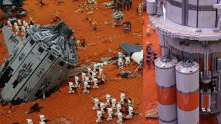 getlinkyoutube.com-Lego Star Wars MOC Geonosis Battle IDS Interview Part 1