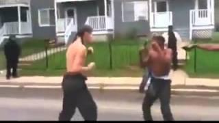 getlinkyoutube.com-Talking shit gets yo ass whooped lmao!