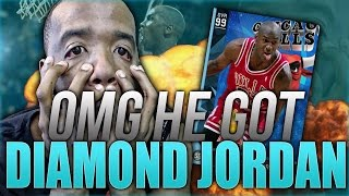 getlinkyoutube.com-HE GOT DIAMOND HISTORIC MICHAEL JORDAN!99 OVERALL!GAMEPLAY NBA 2k16 MyTeam  & PACK OPENING LUCK!!