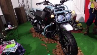 getlinkyoutube.com-Honda BULLDOG / Motorcycle Show 2015
