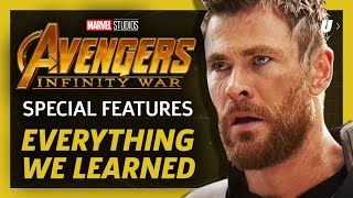 Everything We Learned From Avengers: Infinity War's Special Features