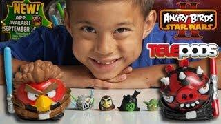 getlinkyoutube.com-JEDI vs. SITH MULTI-PACK - Angry Birds Star Wars II TELEPODS WEEK - Day 5
