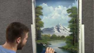 getlinkyoutube.com-Landscape oil painting in just 18 minutes wet on wet