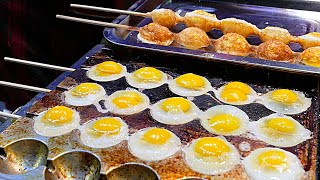 getlinkyoutube.com-Xi'an (China) Street Food - Quail Egg Skewers 鹌鹑蛋串