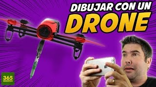 getlinkyoutube.com-COMO DIBUJAR CON UN DRONE - How to draw with a drone - drone fail