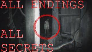 getlinkyoutube.com-ALL ENDINGS / SECRETS + STORY ANALYSIS RESIDENT EVIL 7: BEGINNING HOUR