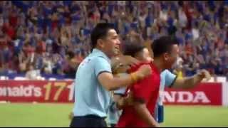 getlinkyoutube.com-ไฮไลท์ พลิกนรก ทีมชาติไทย ยิงท้ายเกมเสมอ อิรัก 2-2 คัดฟุตบอลโลก