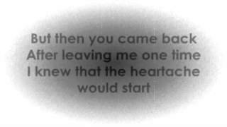 Sad Songs That Make You Cry : Westlife   Please Stay (Lyrics Video)