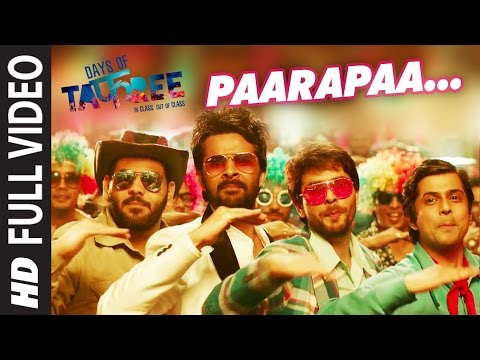 PAARAPAA Full Video Song | DAYS OF TAFREE - IN CLASS OUT OF CLASS | BOBBY-IMRAN | T-Series