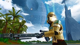 Star Wars Battlefront 2 mods Scarif rogue one imperial landing zone - Alpha