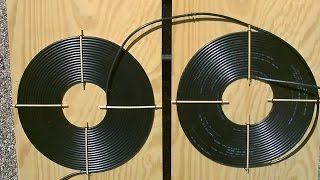 "getlinkyoutube.com-DIY Solar Water Heater! - The ""Dual Spiral"" black poly Solar Water Heater!  Easy DIY (modular/chain)"