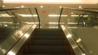 getlinkyoutube.com-KONE & Montgomery Escalators @ Macy*s, Westfield CT Post Mall, Milford, CT
