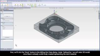 getlinkyoutube.com-Getting Started with SolidCAM iMachining - Video 1
