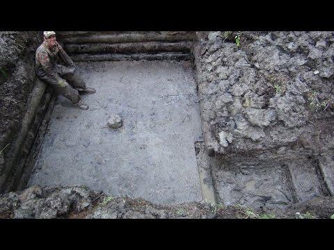 Коп по войне - раскопки немецкого блиндажа