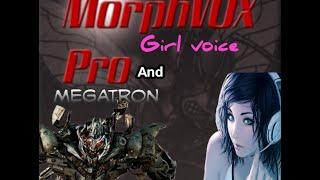 getlinkyoutube.com-MorphVox Pro How to sound like a Girl, and Megatron voice (visual Tutorial)