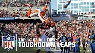 getlinkyoutube.com-Top 10 Touchdown Leaps of All Time | NFL