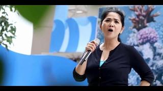 CITRA BIRU - VINA PANDUWINATA karaoke ( tanpa vokal ) cover