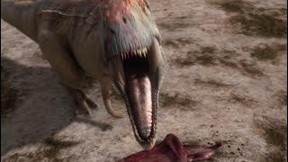 getlinkyoutube.com-Mapusaurus gang Vs. Argentinosaurus - Planet Dinosaur - BBC