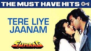 Tere Liye Jaanam - Suhaag | Ajay Devgn, Karisma Kapoor | S. P. Balsubramaniam, Chitra
