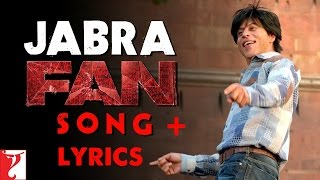 getlinkyoutube.com-Jabra Fan Lyrics Song | Shah Rukh Khan | Jabra Fan Song Lyrics | FAN Lyrics