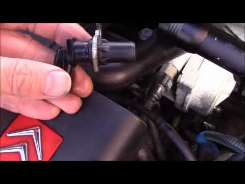 ... berlingo Crankshaft crank position sensor fault diagnosis and replacement FIXED