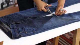How Do I Rip Holes in Jeans?