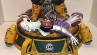 getlinkyoutube.com-Dbz uc studio trunks 1/4 statue unboxing / review