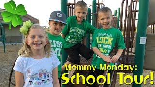 getlinkyoutube.com-School Tour, Open House & Ice Cream    Mommy Monday