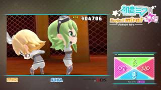 getlinkyoutube.com-Project Mirai DX Invisible Super Hard Perfect (Chou Tokoton) 100% Cool Auto Play おてほん