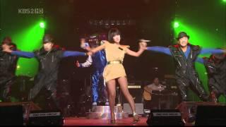 getlinkyoutube.com-[HD] Uhm Jung Hwa - DISCO Live Feat.Top , YD Letter 080712